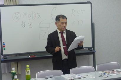 0703 ⑤ 熱っぽく講演中の中川講師