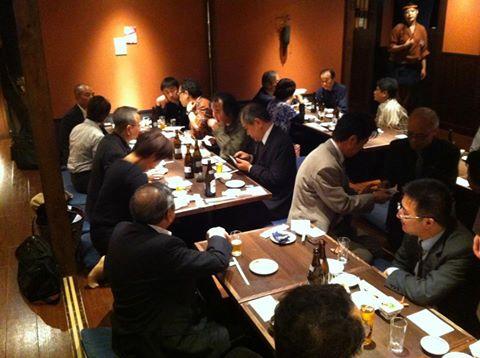 20121027 勉強会後の懇親会